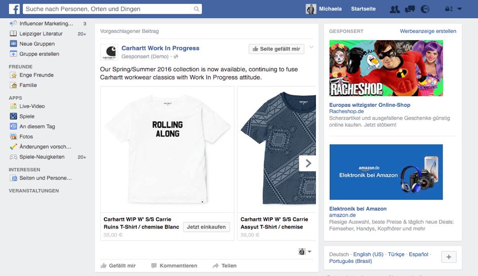 Facebook Anzeige schalten