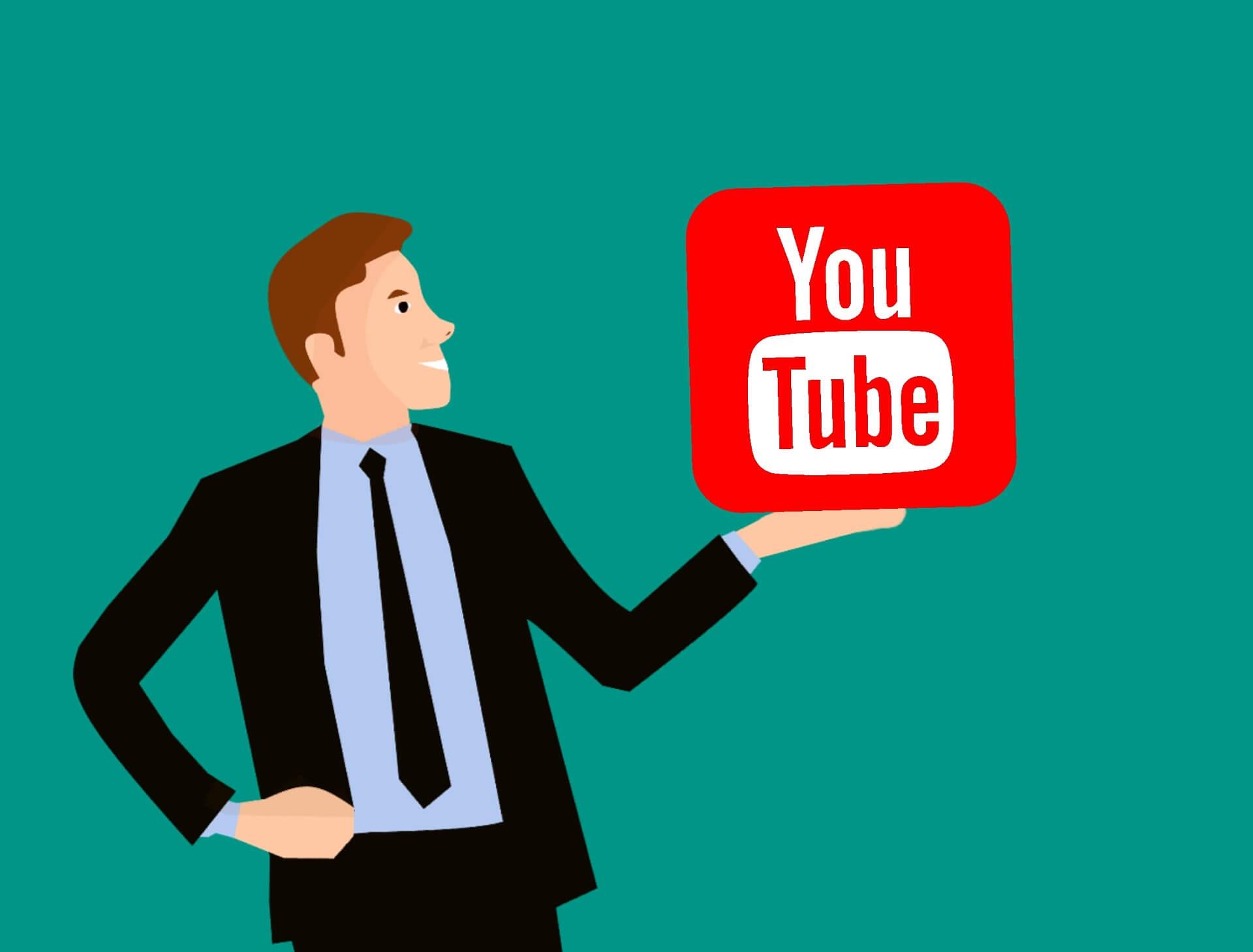Werbung auf YouTube